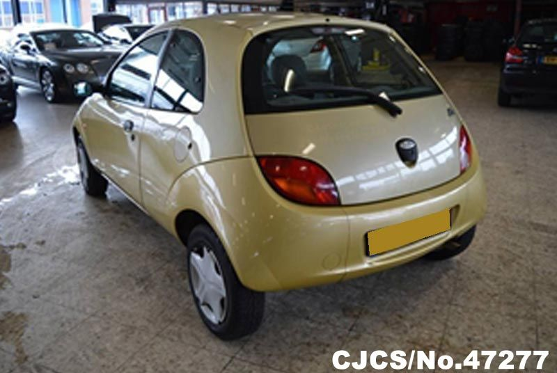 2000 left hand ford ka yellow for sale stock no 47277 left hand used cars exporter. Black Bedroom Furniture Sets. Home Design Ideas