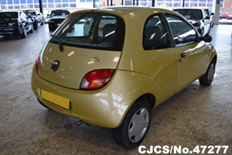 2000 left hand ford ka yellow for sale stock no 47277. Black Bedroom Furniture Sets. Home Design Ideas