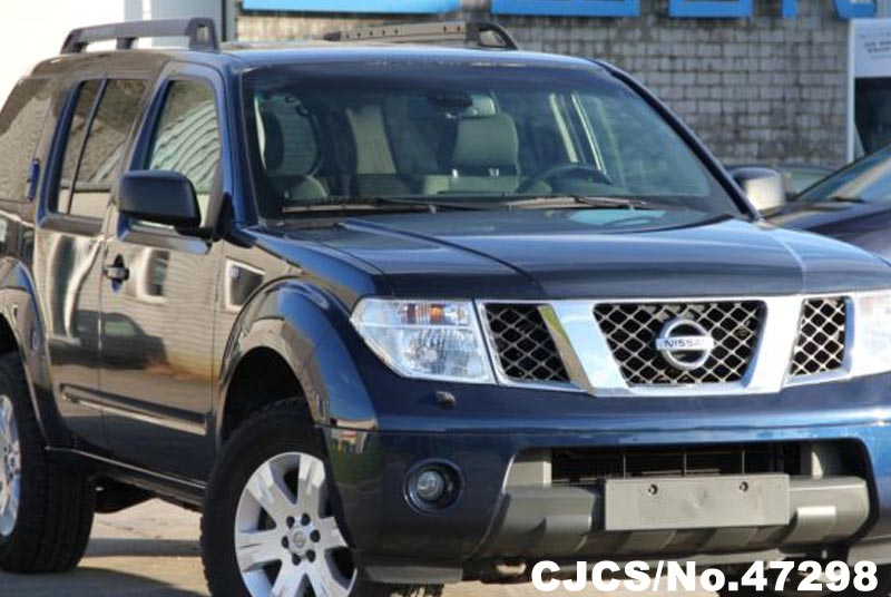 2009 Left Hand Nissan Pathfinder Blue Metallic For Sale Stock No