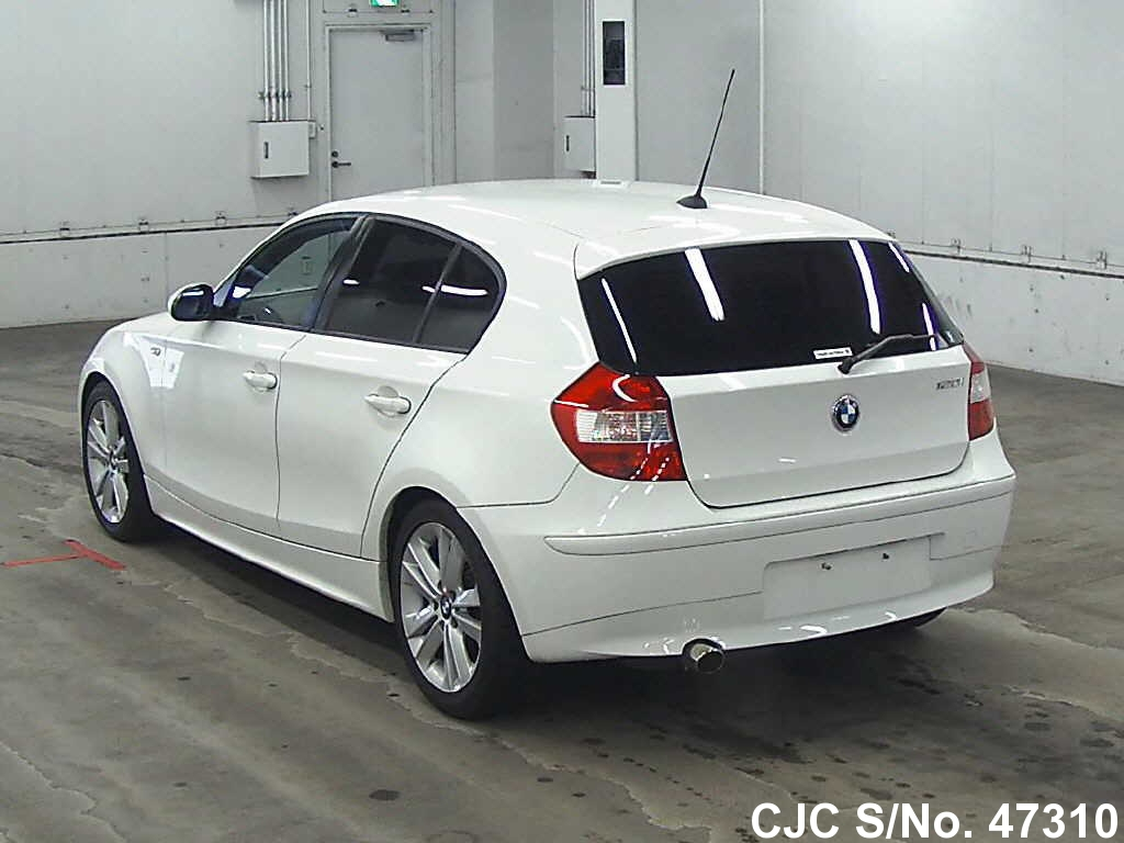 2005 bmw 1 series white for sale stock no 47310. Black Bedroom Furniture Sets. Home Design Ideas