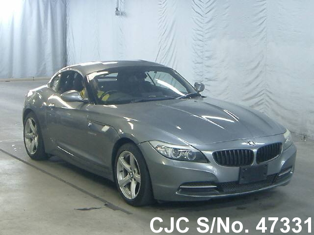 2009 bmw z4 gray for sale stock no 47331 japanese used cars exporter. Black Bedroom Furniture Sets. Home Design Ideas