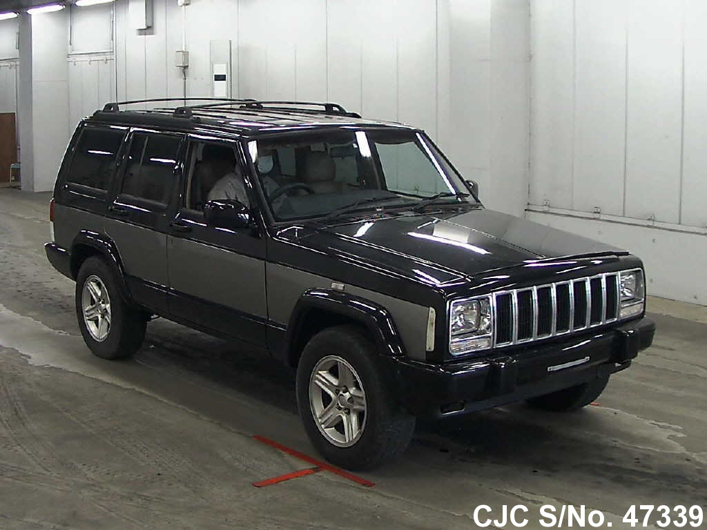 2001 jeep cherokee green for sale stock no 47339 japanese used cars exporter. Black Bedroom Furniture Sets. Home Design Ideas