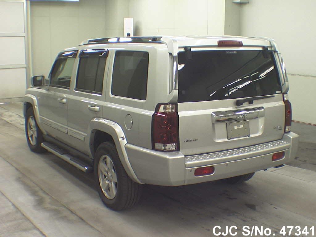 2006 jeep commander silver for sale stock no 47341 japanese used cars exporter. Black Bedroom Furniture Sets. Home Design Ideas