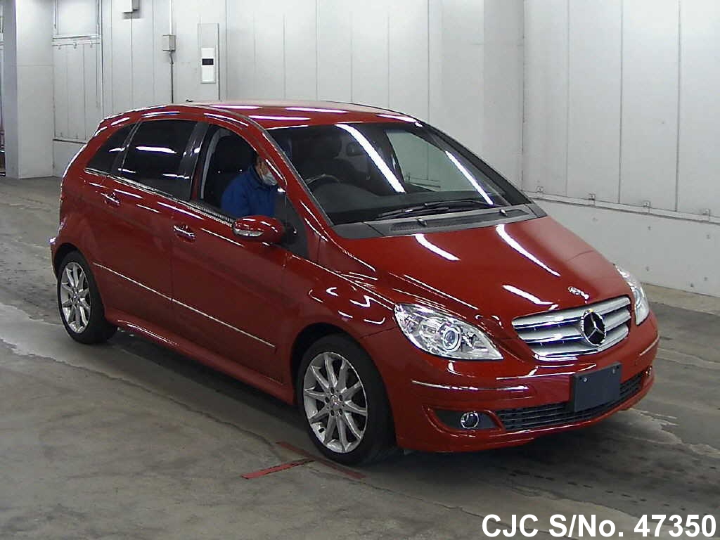 2006 mercedes benz b class red for sale stock no 47350. Black Bedroom Furniture Sets. Home Design Ideas