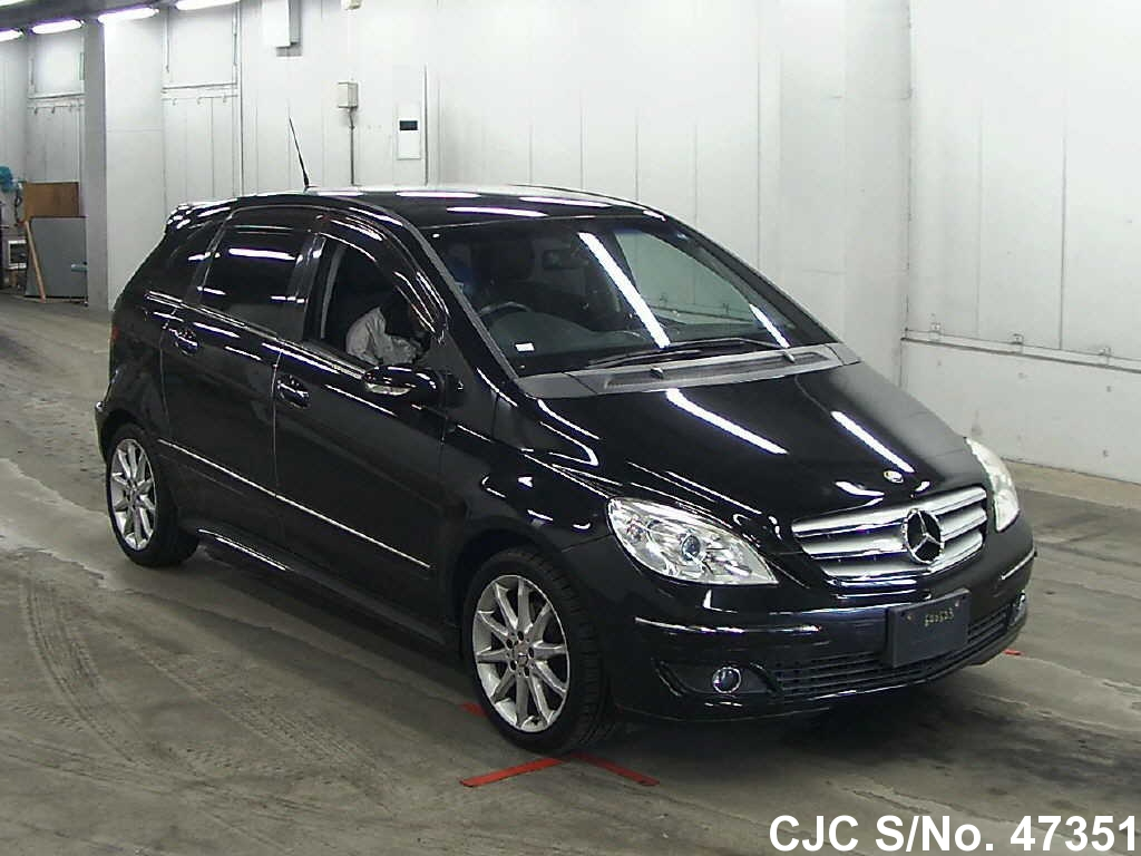 2007 mercedes benz b class black for sale stock no 47351 japanese used cars exporter. Black Bedroom Furniture Sets. Home Design Ideas
