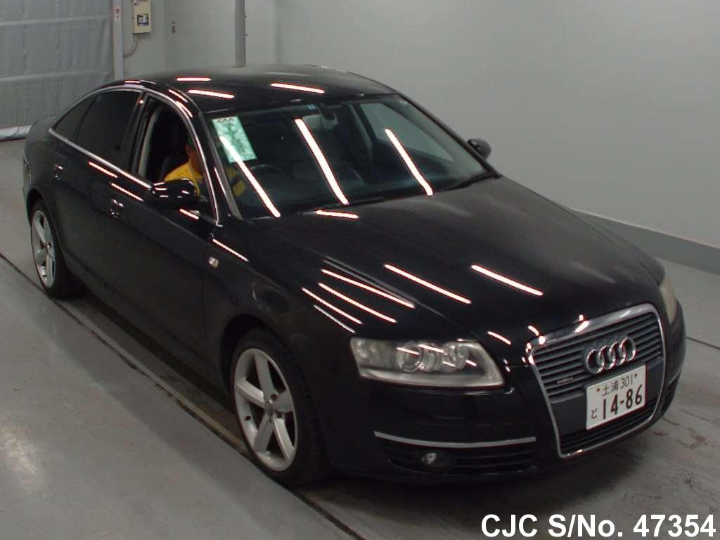 2005 audi a6 black for sale stock no 47354 japanese used cars exporter. Black Bedroom Furniture Sets. Home Design Ideas