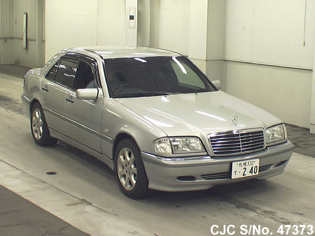 1998 mercedes benz c class silver for sale stock no for Mercedes benz s class 1998