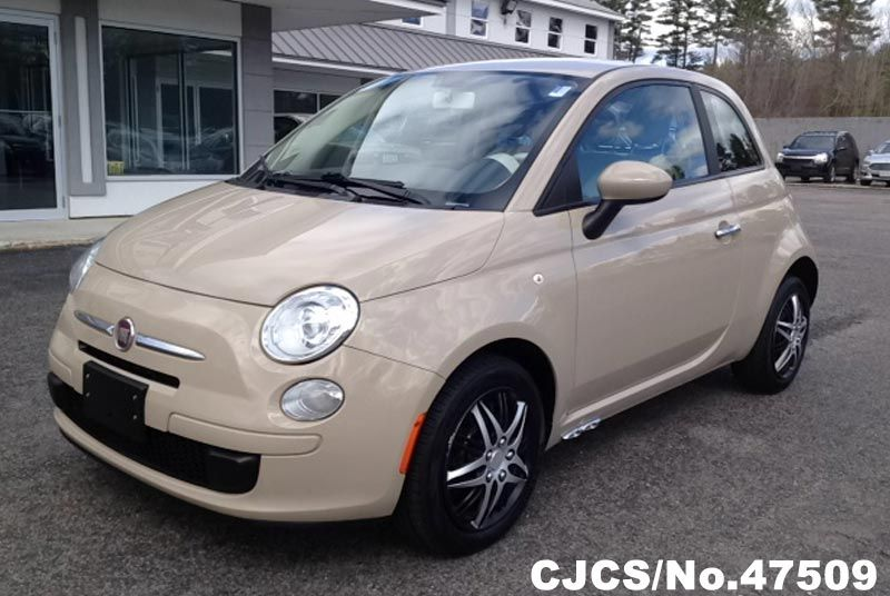 2012 left hand fiat 500 light coffee for sale stock no 47509 left hand used cars exporter. Black Bedroom Furniture Sets. Home Design Ideas