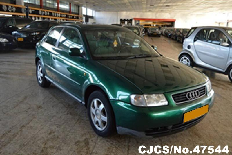 1998 left hand audi a3 green metallic for sale stock no 47544 left hand used cars exporter. Black Bedroom Furniture Sets. Home Design Ideas