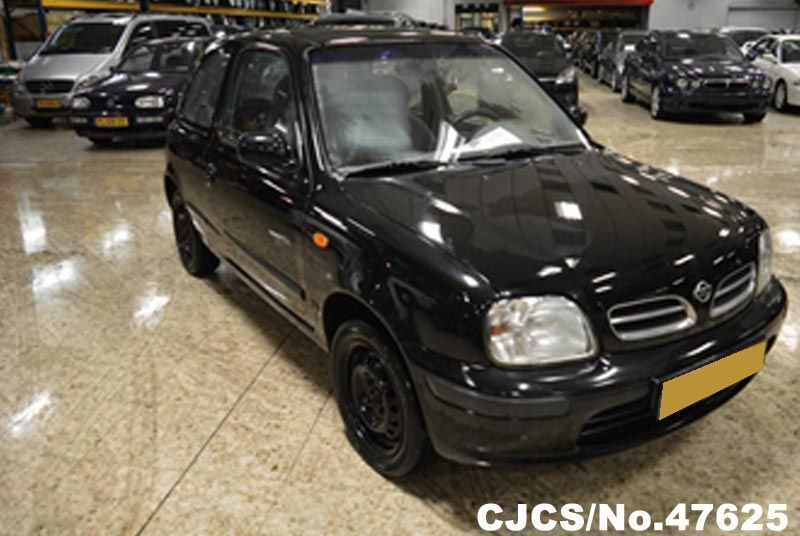 1998 left hand nissan micra black for sale stock no. Black Bedroom Furniture Sets. Home Design Ideas