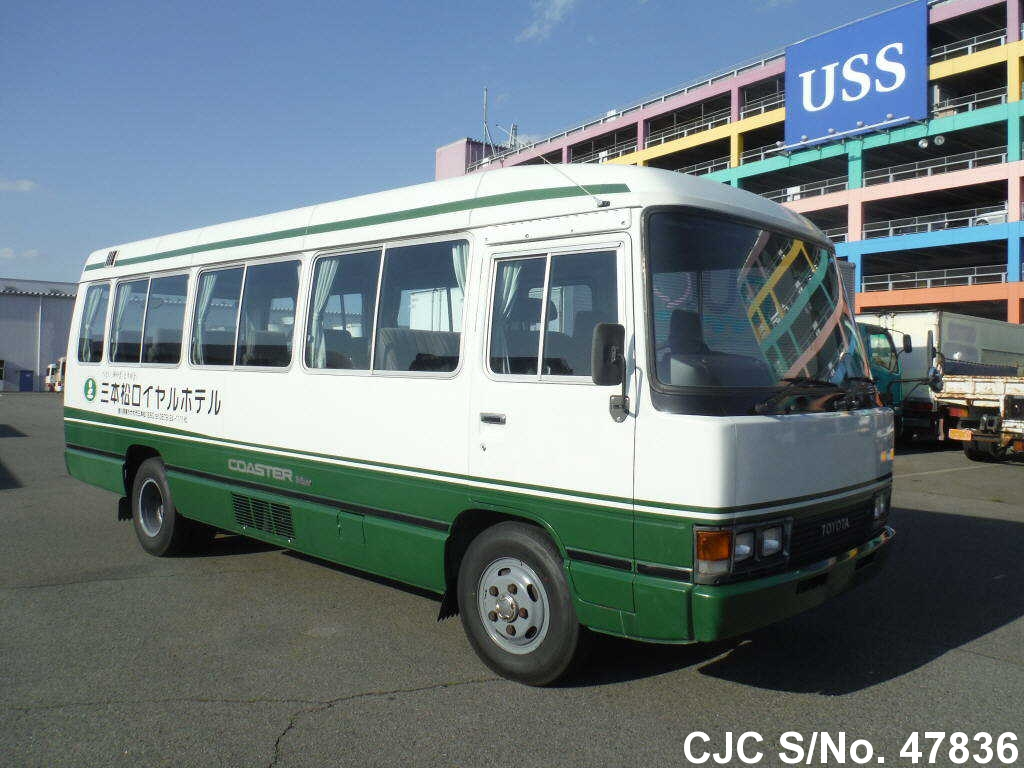 1989 Toyota / Coaster Stock No. 47836