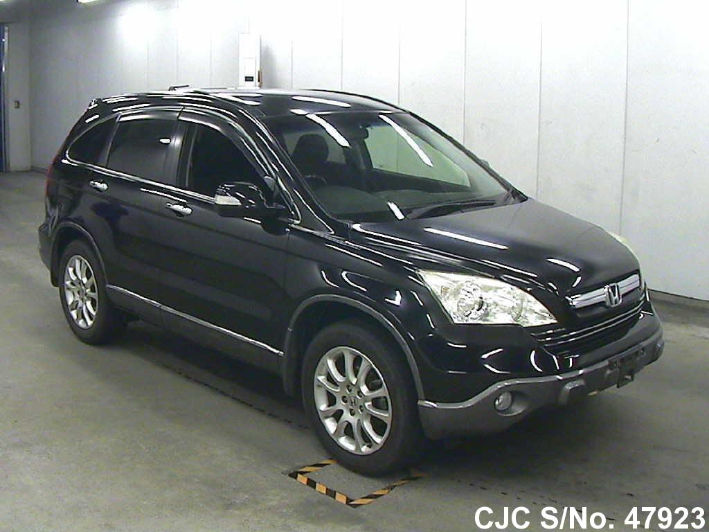 2007 honda crv black for sale stock no 47923 japanese used cars exporter. Black Bedroom Furniture Sets. Home Design Ideas