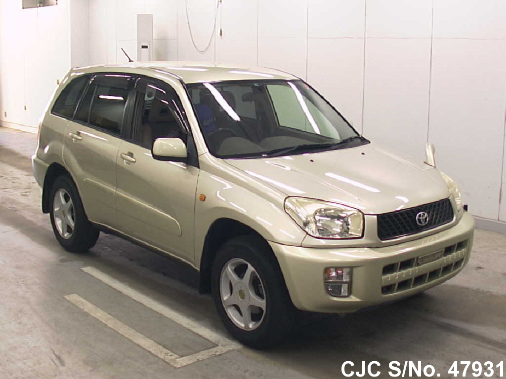 2003 toyota rav4 silver for sale stock no 47931 japanese used cars exporter. Black Bedroom Furniture Sets. Home Design Ideas
