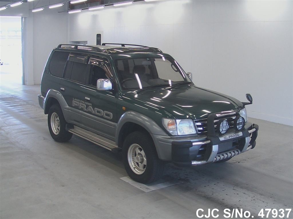 1997 toyota land cruiser prado green for sale stock no 47937 japanese used cars exporter. Black Bedroom Furniture Sets. Home Design Ideas