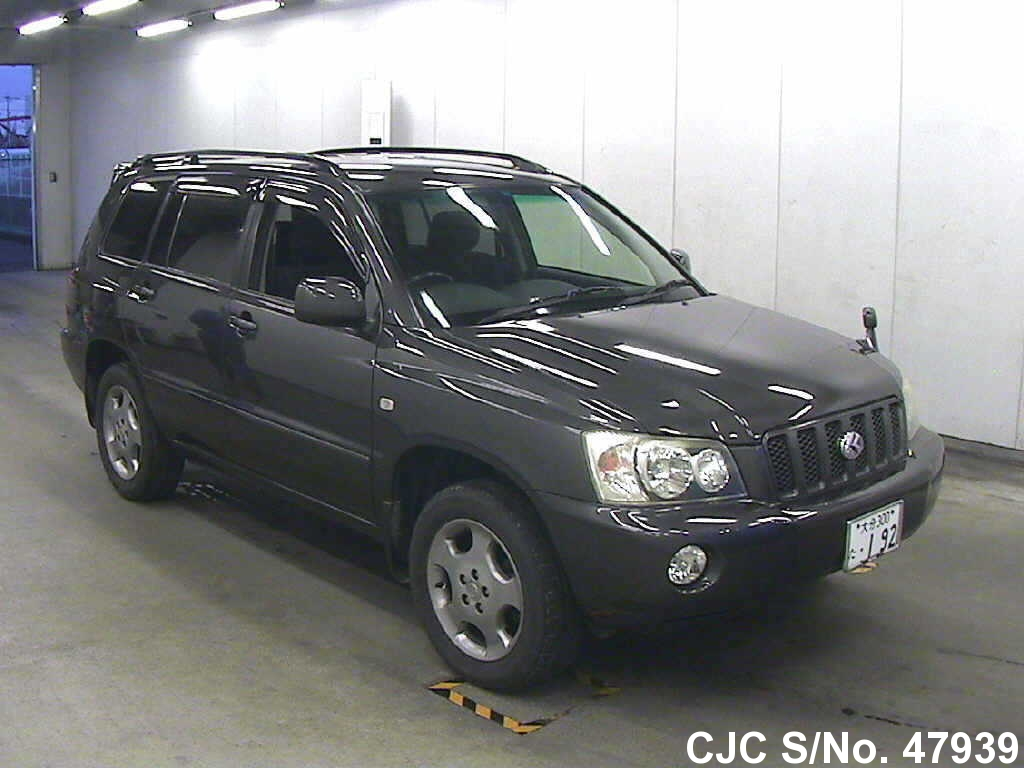 2002 toyota kluger gray for sale stock no 47939