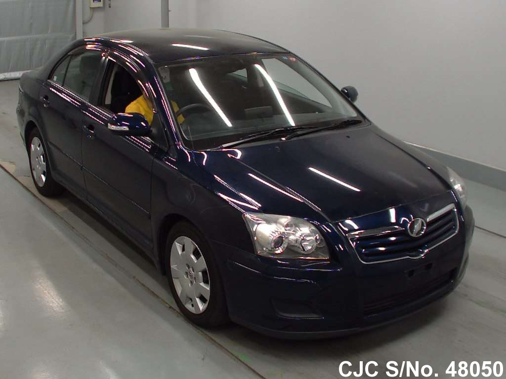 2007 toyota avensis blue for sale stock no 48050 japanese used cars exporter. Black Bedroom Furniture Sets. Home Design Ideas