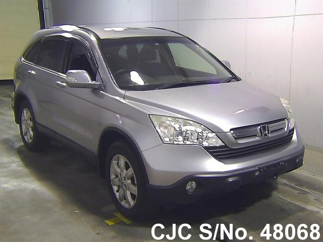 2007 honda crv silver for sale stock no 48068 japanese used cars exporter. Black Bedroom Furniture Sets. Home Design Ideas