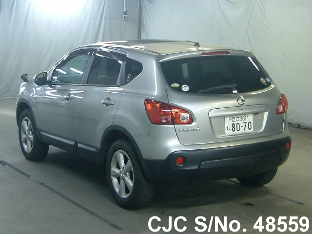 2008 nissan dualis silver for sale stock no 48559 japanese used cars exporter
