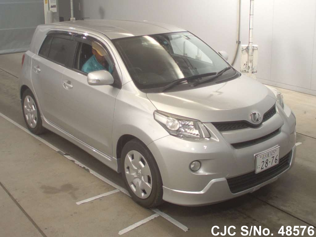 2010 Toyota IST Silver for sale | Stock No  48576 | Japanese