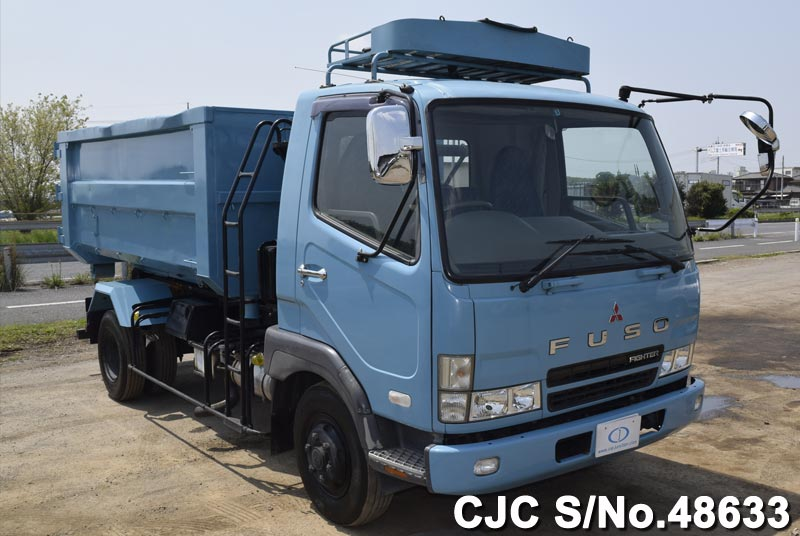 Mitsubishi Fuso Fighter Garbage Trucks from Japan