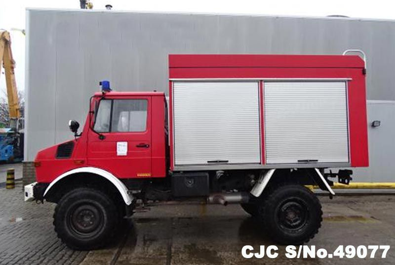 1987 Left Hand Mercedes Benz UNIMOG 435 Red for sale | Stock