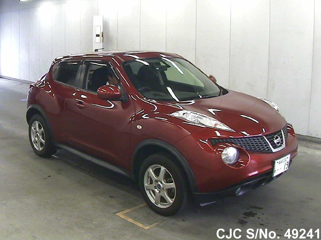 2010 nissan juke red for sale stock no 49241 japanese used cars exporter. Black Bedroom Furniture Sets. Home Design Ideas