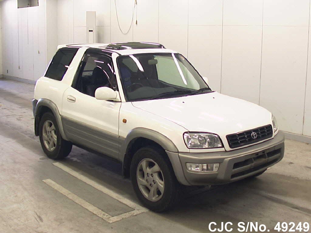 1999 toyota rav4 white for sale stock no 49249 japanese used cars exporter. Black Bedroom Furniture Sets. Home Design Ideas