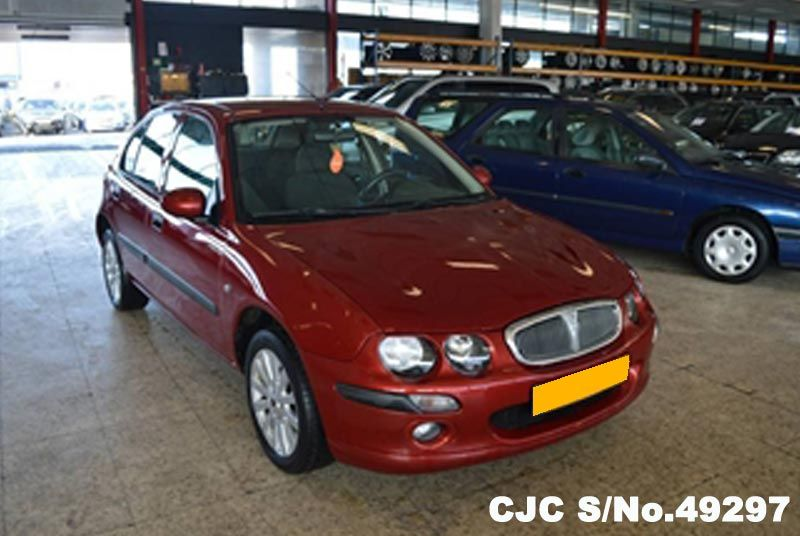 2004 Left Hand Rover 25 Red Metallic For Sale Stock No 49297
