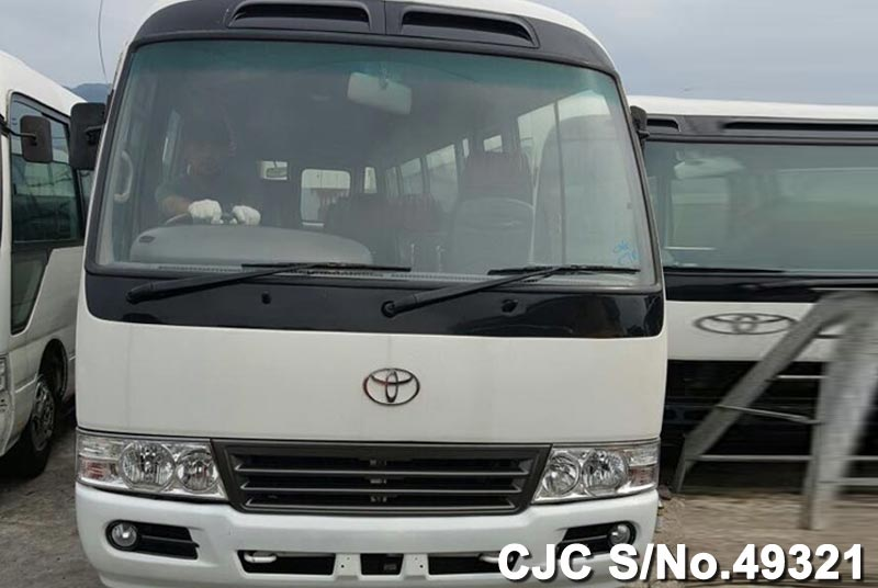 2003 model Toyota Coaster Bus for Tanzania