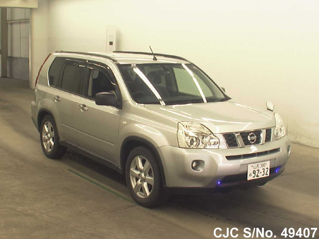 2008 nissan x trail silver for sale stock no 49407. Black Bedroom Furniture Sets. Home Design Ideas