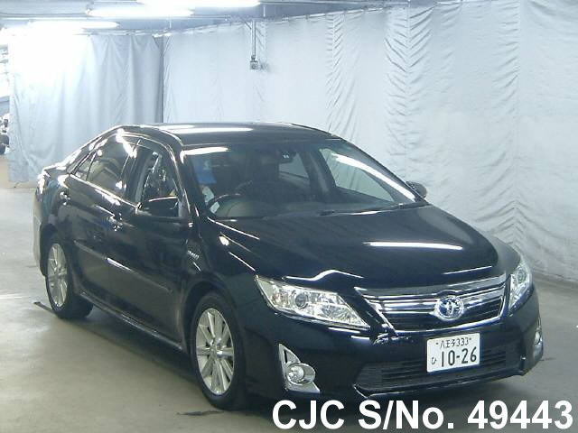 2011 toyota camry black for sale stock no 49443 japanese used cars exporter. Black Bedroom Furniture Sets. Home Design Ideas