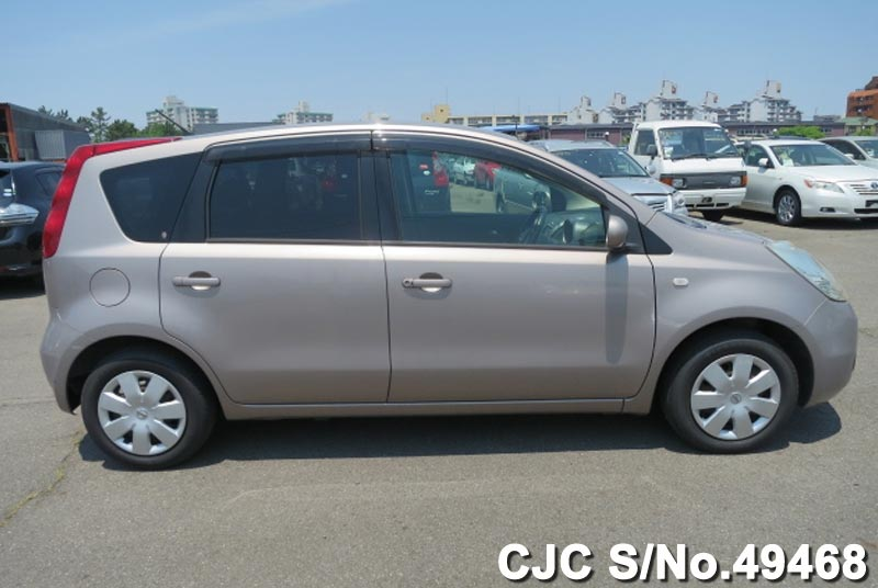 2006 nissan note beige for sale stock no 49468 japanese used cars exporter. Black Bedroom Furniture Sets. Home Design Ideas