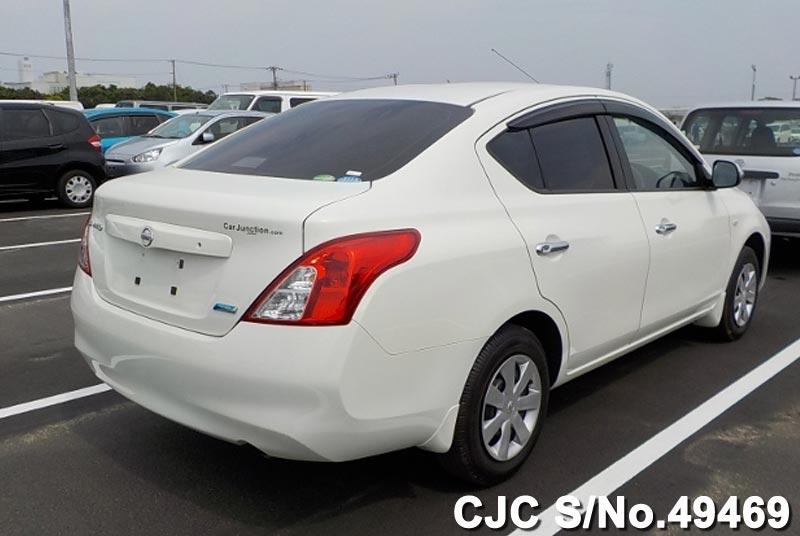 2013 Nissan Latio White For Sale Stock No 49469