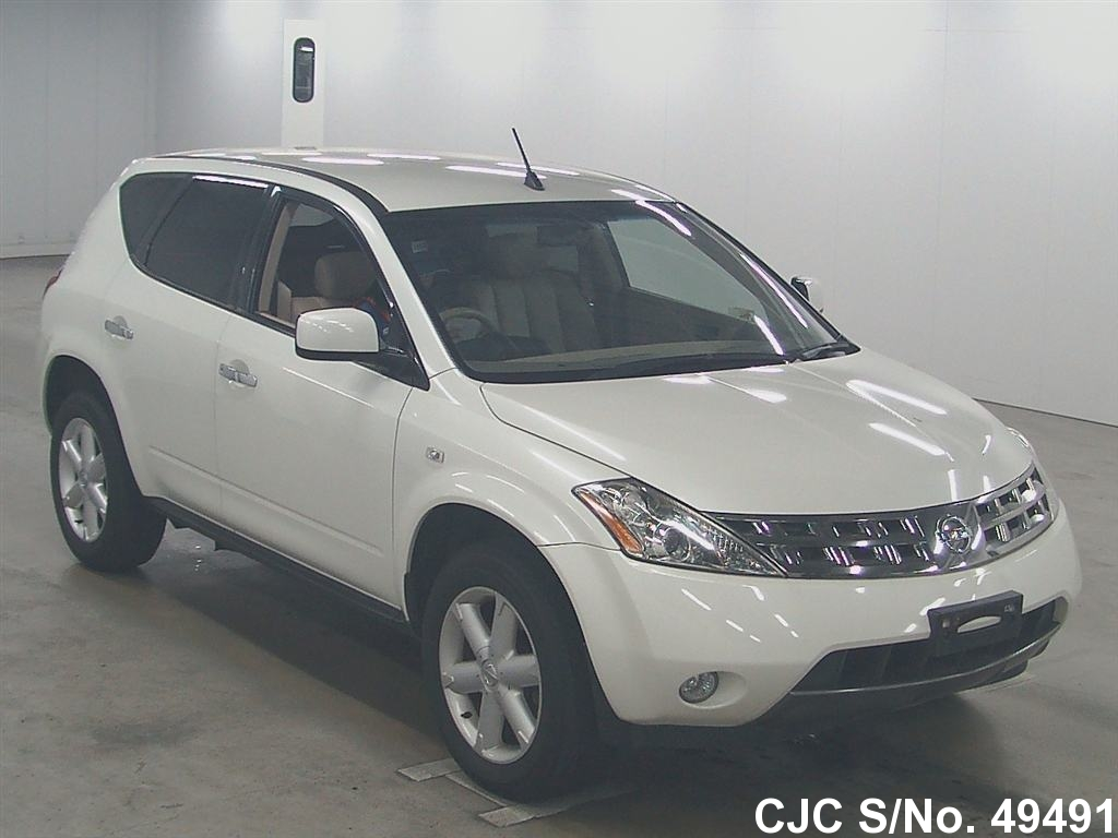2005 nissan murano pearl for sale stock no 49491. Black Bedroom Furniture Sets. Home Design Ideas
