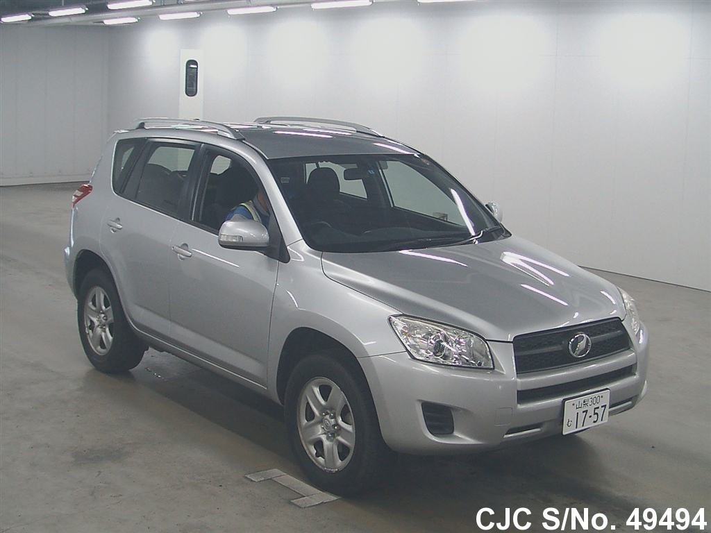 2011 toyota rav4 silver for sale stock no 49494 japanese used cars exporter. Black Bedroom Furniture Sets. Home Design Ideas