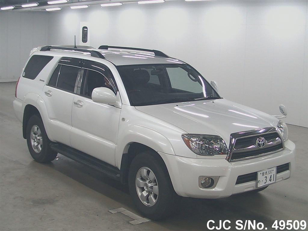 2006 toyota hilux surf 4runner pearl for sale stock no 49509 japanese used cars exporter. Black Bedroom Furniture Sets. Home Design Ideas