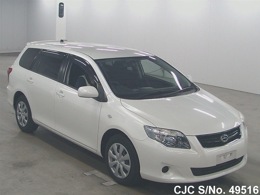 2010 toyota corolla fielder pearl for sale stock no 49516 japanese used cars exporter. Black Bedroom Furniture Sets. Home Design Ideas