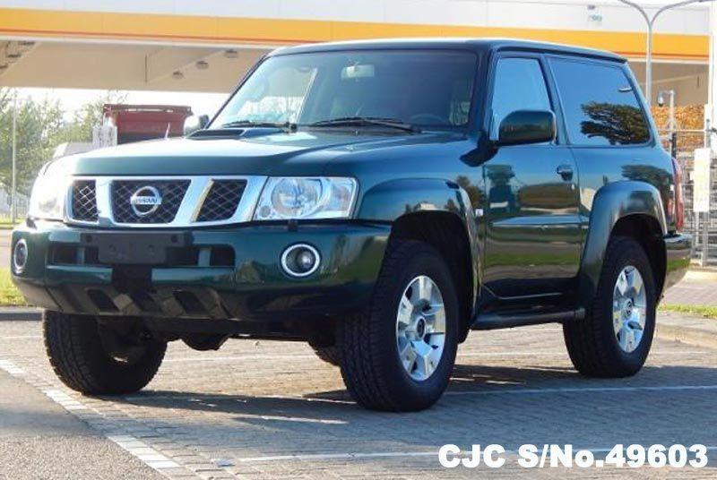 2005 Left Hand Nissan Patrol Green Metallic For Sale