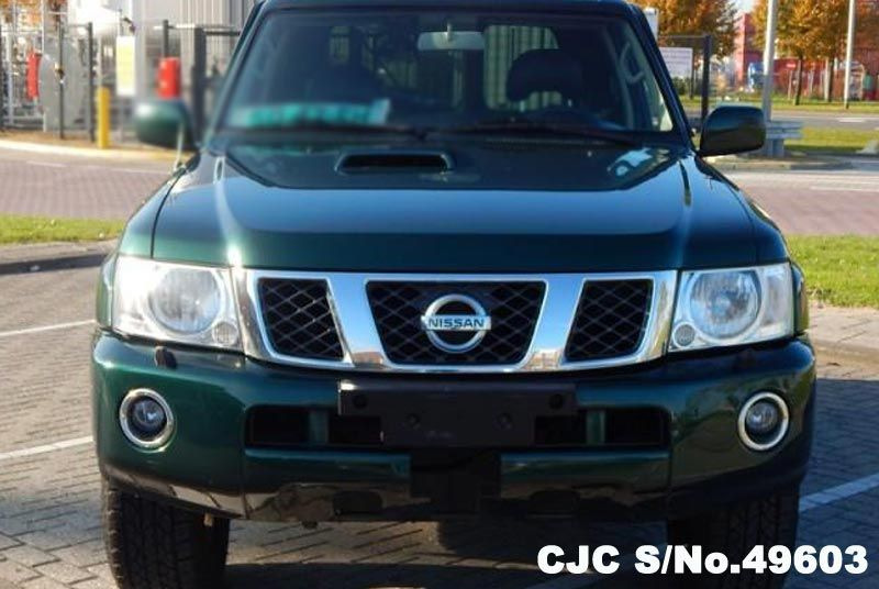 2005 left hand nissan patrol green metallic for sale stock no 49603 left hand used cars