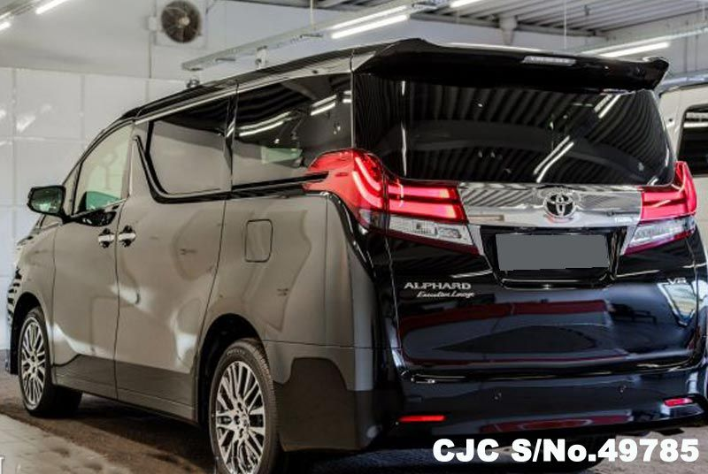 2010 Toyota Corolla For Sale >> 2017 Left Hand Toyota Alphard Black for sale   Stock No. 49785   Left Hand Used Cars Exporter