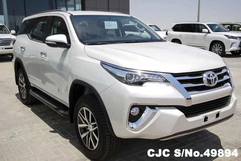 2016 Left Hand Toyota Fortuner White For Sale Stock No 49894 Left Hand Used Cars Exporter