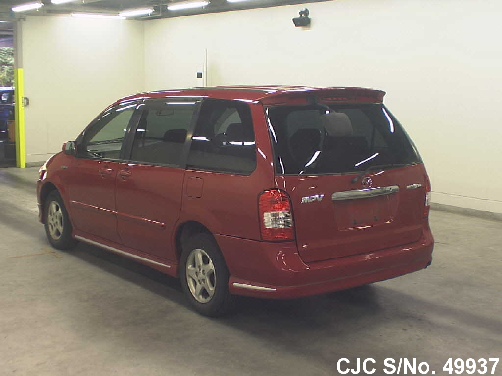 2001 mazda mpv red for sale stock no 49937 japanese for 2001 mazda mpv window motor
