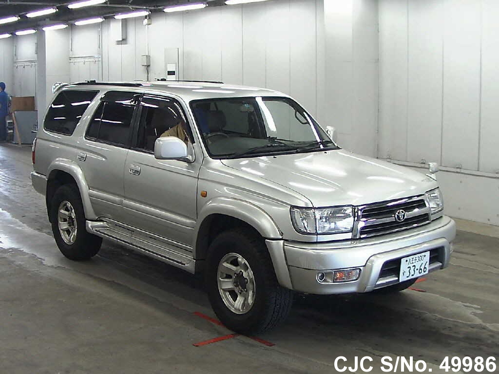 1998 Toyota Hilux Surf 4runner Silver For Sale Stock No