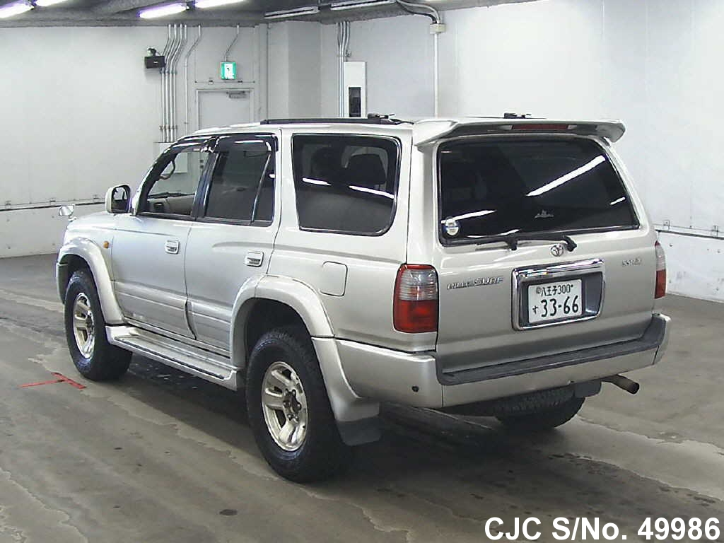 1998 toyota hilux surf 4runner silver for sale stock no. Black Bedroom Furniture Sets. Home Design Ideas