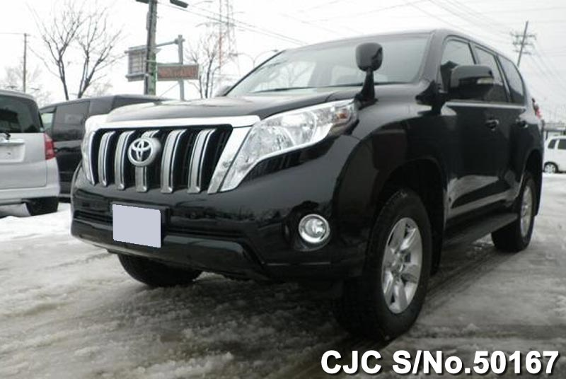 Japanese Toyota Land Cruiser Prado 2016