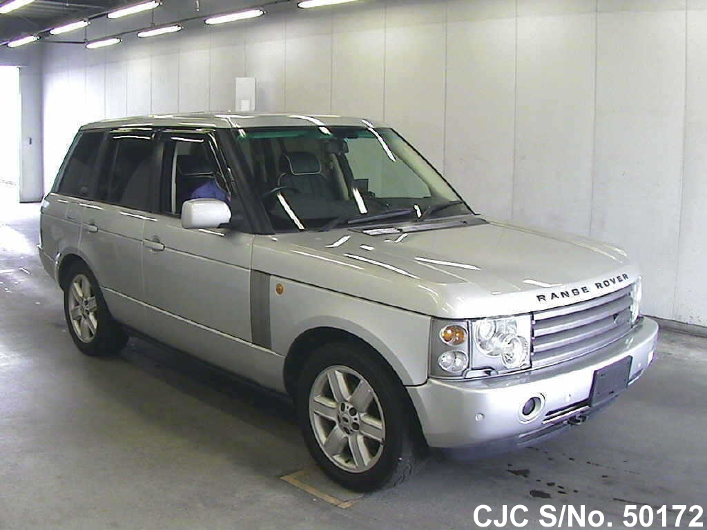 2003 land rover range rover silver for sale stock no 50172 japanese used cars exporter. Black Bedroom Furniture Sets. Home Design Ideas