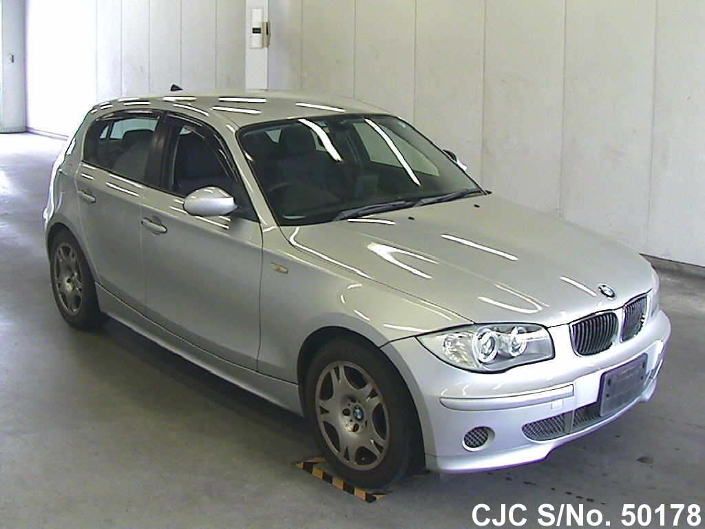 2005 bmw 1 series silver for sale stock no 50178 japanese used cars exporter. Black Bedroom Furniture Sets. Home Design Ideas