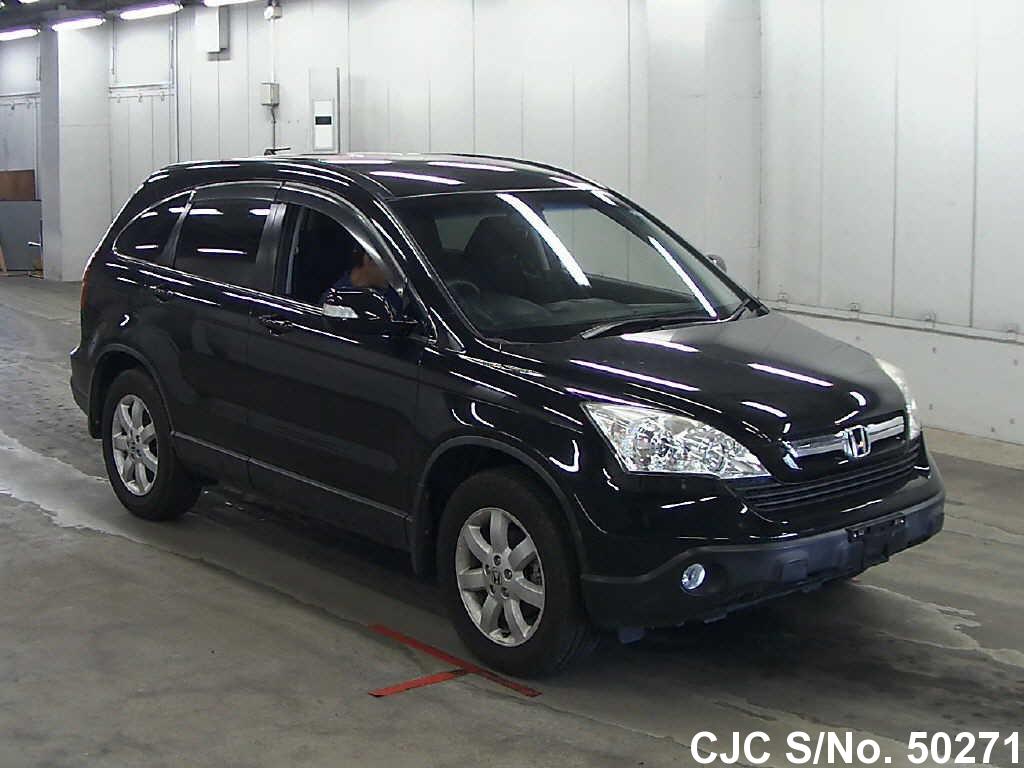 honda crv black  sale stock   japanese  cars exporter