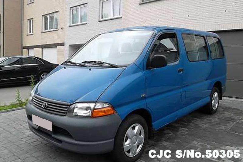 2004 Left Hand Toyota Hiace Blue For Sale Stock No