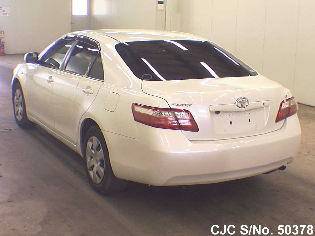 2006 toyota camry pearl for sale stock no 50378 japanese used cars exporter. Black Bedroom Furniture Sets. Home Design Ideas